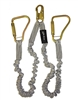 Elk River 35406 | Twin Leg Shock Lanyard w/ Large Steel Carabiners