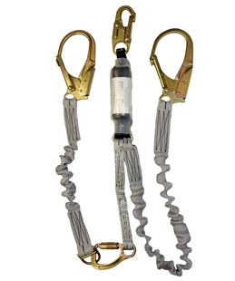 Elk River 36966 | ZORBER energy-absorbing pack TL Lanyard With Large Aluminum alloy Carabiners