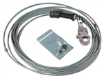 FAST-Line Stainless Steel Cable Assembly with Hook - 50 ft. | 3900107