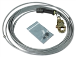 FAST-Line Galvanized Cable Assembly with Hook - 130 ft. | 3900112