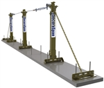 SecuraSpan Rebar/Shear Stud Horizontal Lifeline System - 30 ft. | 7400630