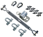 Zorbit Energy Absorber Kit with Three Shackles | 7401033