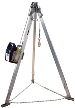 Advanced Aluminum Tripod with Salalift II Winch with Galvanized Steel Wire Rope | 8300040