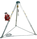 PRO Confined Space System with Stainless Steel Self Retracting Lifeline | 8308006