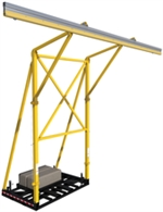 FlexiGuard Counterweighted System with 22 ft anchor height - 32 ft rail | 8517760