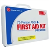 75 person Plastic ANSI first aid Kit | Genuine 50 man First Aid Kit