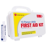 10 person Plastic ANSI first aid Kit | Genuine 10 man First Aid kit