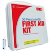50 person Plastic ANSI first aid Kit | Genuine 50 man First Aid Kit