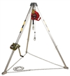 PRO Confined Space System with Galvanized Self Retracting Lifeline - 8 ft. | AA805AG1