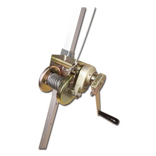 PRO Confined Space Winch With Stainless Steel Cable