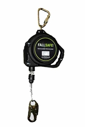 30' Fall Safe Xtreme Cable Retractable Lifeline | FS-EX1030-G