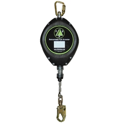 50' Fall Safe Cable Retractable Lifeline | FS-FSP1250G