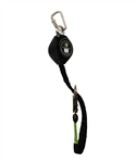 7' Web Retractable Lifeline Tie Back Hook and webbing - Class A - FS-FSP1407-WTBH
