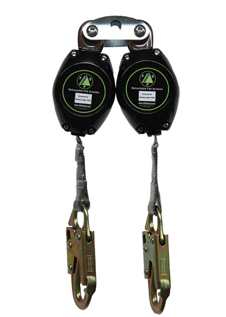 Class A Double Retractable Lanyard 7 Harness Land