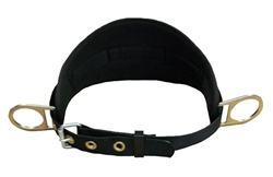 Construction Belt with Back Pad & side D-Rings Medium