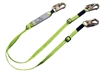 Adjustable Dual-Leg Shock Lanyard - FallSafe FS561-AJ