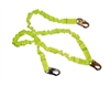 Double Leg Stretch Shock Absorbing Lanyard