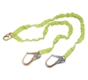FSP Extreme 6' Dual Leg Stretch Low Profile Shock Lanyard with Rebar Hooks | FS596