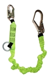 FSP Extreme 6' Single leg Shock Lanyard Combo with O-Ring & Rebar Hook | FS66100