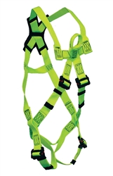 High-Dielectric Arc Flash Harness w/ front rescue loop | FSP FS77225-UT