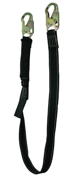 FSP 6' Shock Absorbing Welding Lanyard with Double Locking Snap Hooks | FS77430-WE