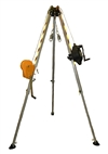FSP Confined Space Rescue System - Includes Tripod, 50' 3-Way System, Winch & Carry Bag | FS980