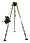 FSP Confined Space Rescue System - Includes Tripod, 50' 3-Way System & Carry Bag | FS981