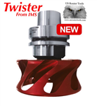 IMS Twister for dust control on CNC router
