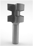 "1 1/2"" Wedge Tongue & Groove Bit"