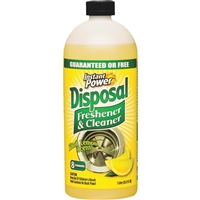 Instant Power Disposal Freshener & Cleaner