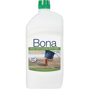 Bona Stone, Tile, Laminate High Gloss Floor Polish