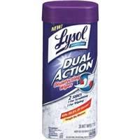 Lyson Dual Action Scrubbing Wipes