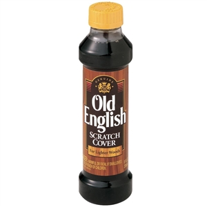 Old English Scratch Cover Wood Polish for Lighter Woods