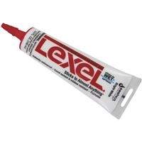Lexel 5 oz Polymer Caulk Sealant, White