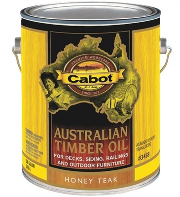 Cabot Australian Timber Oil Honey Teak