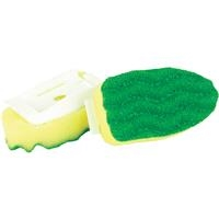Libman Polyester Soap Dispensing Brush Refill (2-Pack)