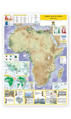 Map | Energy Map of Africa