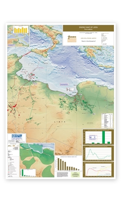 Map | Energy Map of Libya