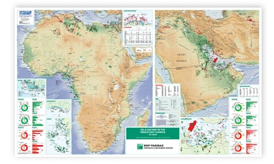 Map | Oil & Gas Map of the Middle East & Africa