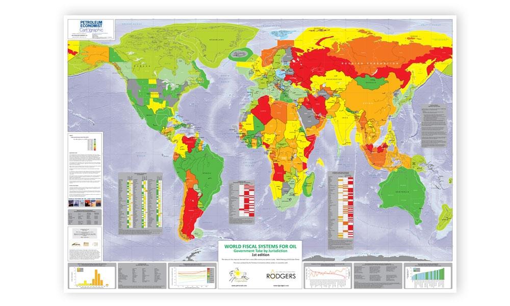 World fiscal systems for oil map petroleum economist store alternative views gumiabroncs Images