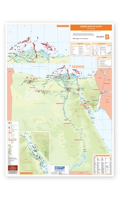 Map | Energy Map of Egypt
