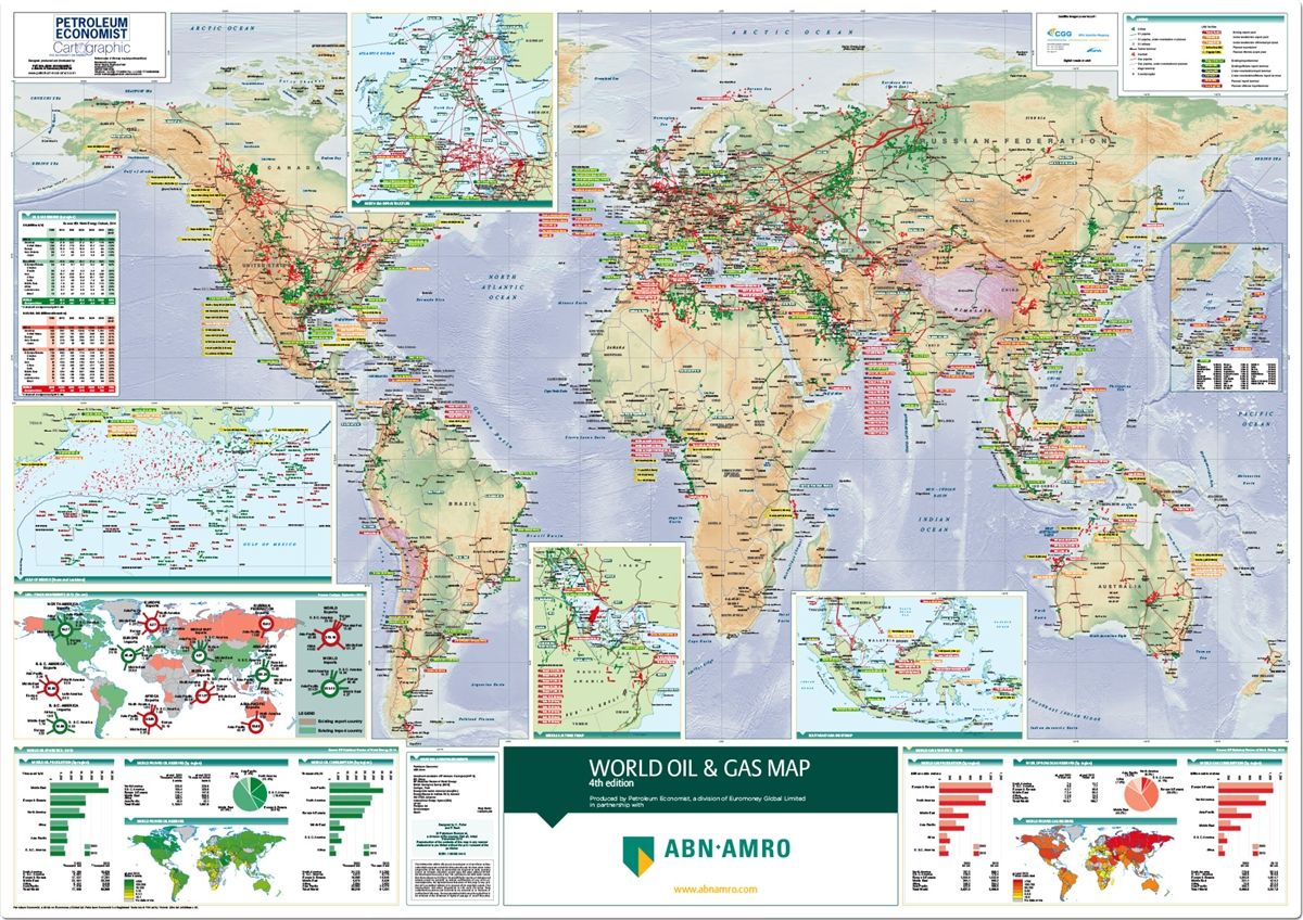 World oil and gas map petroleum economist store alternative views gumiabroncs Choice Image