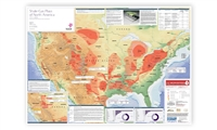Map | North America Shale Gas Map, 2nd edition
