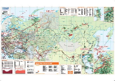 Map | Energy Map of Russia & CEE [English]