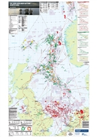 Map | Oil and Gas Map of the North Sea