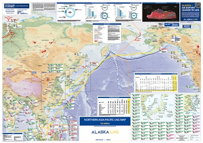 Map | Northern Asia-Pacific LNG Map