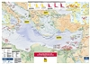 Map | Oil and Gas Map of the Eastern Mediterranean, 2nd edition