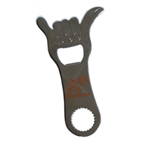 Metal Hang Loose Bottle Opener - Honu