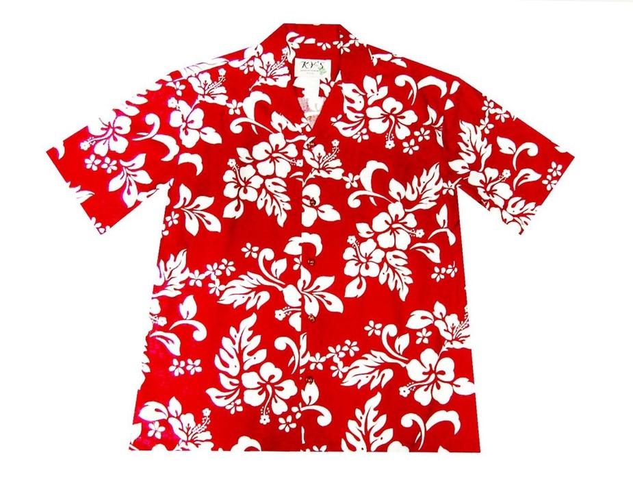 KY's Red Aloha Shirts