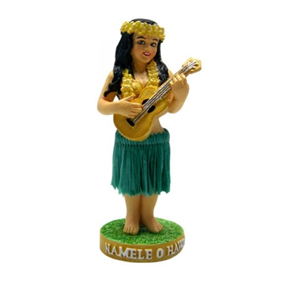 Miniature Dashboard Hula Doll Namele